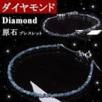 ブラックダイヤモンドブルーダイヤモンド ブレスレット