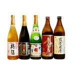 おすすめ5本小瓶薩摩茶屋コース(伊佐美・赤霧島・白玉の露・白玉の梅酒)