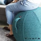 バランスボール チェア vivora ビボラ シーティングボール ルーノ シェニール バランスボール 体幹 トレーニング エクササイズ 姿勢 ヨガ 椅子
