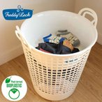 ランドリーバスケット 洗濯かご おしゃれ 洗濯カゴ ロゴプリントタイプ フレディレック ランドリーバスケット ビッグ & ウォッシュタブ セット