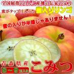 青森県産りんご こみつ 8〜9個入り  不死鳥のように蘇った究極の蜜入りリンゴ! 出荷予定:11月下旬〜