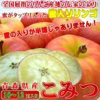 青森県産りんご こみつ 10〜12玉入り  不死鳥のように蘇った究極の蜜入りリンゴ! 出荷予定:11月下旬〜