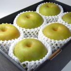 和梨 幸水梨 大玉6個(化粧箱入り)  豊水梨と並ぶ赤なしの中で最も人気のある一つ