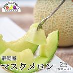 静岡産マスクメロン2玉木箱入