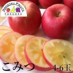 ショッピング予約 青森産・究極の蜜入り林檎 こみつ4〜5玉