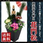 迎春寄せ植え 花門松 お届け期間12月26日〜12月31日