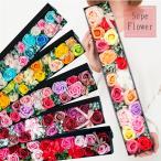 ソープフラワー ソープローズ「ロングBOX」ボックスフラワーのアレンジメント! フラワーギフトやお花のプレゼントにオススメソープフラワーのアレンジメント!