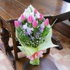 春爛漫 チューリップ ブーケ花束
