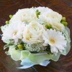 真っ白 フワフワ フラワーケーキ 生花 プレゼント 母の日 父の日 誕生日 結婚記念日 結婚祝い 送料無料