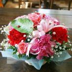 カーネーション アレンジメント プレゼント 生花 花束 花ギフト ひな祭り 母の日 卒業 画像 送料無料