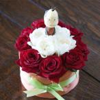敬老の日 フラワーケーキ おじいちゃん又はおばあちゃん どちらか1個 生花 フラワーアレンジ プレゼント誕生日 結婚記念日 結婚祝い 画像 送料無料