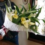 カサブランカ 花束 ユリ オリエンタル