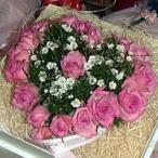 母の日 フラワーケーキ ラブラブハートをピンクで作ったハートのケーキ 6号  生花 プレゼント誕生日 結婚記念日 結婚祝い
