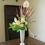 敬老の日 花束 ブーケ 季節のお花 ドラセナ スタイリッシュブーケ 生花 プレゼント ギフト誕生日 結婚記念日 結婚祝い 画像 送料無料