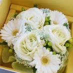 敬老の日  真っ白フワフワのフラワーケーキ 生花 プレゼント ギフト誕生日 結婚記念日 結婚祝い 画像 送料無料