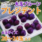 プルーン 大玉プルーン プレジデント 大玉サイズ 20〜24個入 送料無料