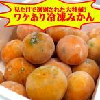 ワケあり冷凍みかん約1kg(バラ詰め)