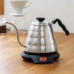 HARIO ハリオ V60 温度調整付き パワーケトル・ヴォーノ ケトル 電気ケトル やかん 湯温計付 HARIO ボーノ ハリオ コーヒー カフェ EVT-80-HSV