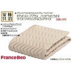 ベッドパッド ワイドシングルロングサイズ フランスベッド グッドスリーププラス バイオベッドパッド 110×205cm 36009-460