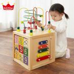 エドインター 森のあそび道具 森のあそび箱 木のおもちゃ 型はめ 楽器 木製 木育 1歳 1.5歳 かわいい 知育玩具