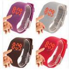 Yahoo! Yahoo!ショッピング(ヤフー ショッピング)メンズ 腕時計 時計 レディース ウオッチ LED 【男女問わず使える♪】★在庫処分!★シリコン腕時計★電子腕時計★超可愛い◆FF151