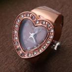 指輪時計 クロックリング 時計 サイズフリー ハー