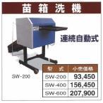 【送料無料】笹川 苗箱洗器 SW400