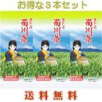 お茶 緑茶 日本茶 煎茶 茶娘ちゃんの菊川茶 100g3袋 深蒸し 令和元年産 送料無料