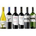 ワインショップ・エノテカワイン モンテス6本セット(白2本・赤4本) 750MLx6本 1セット 【ワインセット】