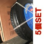 軽量スリム型ノーパンクタイヤ FP1302A 一輪車 5本入 東名阪は送料込 径約350×軸径約16×タイヤ巾約70mm