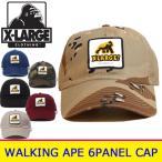 XLARGE エクストララージ キャップ(WALKING APE PATCHED 6PANEL CAP)X-LARGE 帽子