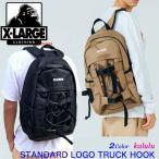 XLARGE エクストララージ バックパック リュック STANDARD LOGO TRUCK HOOK BACKPAC メンズ 通勤 通学 大容量 01193018