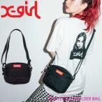 X-girl エックスガール ショルダーバッグ BOX LOGO SHOULDER BAG レディース 05175058