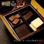 チュベ・ド・ショコラのジュエル・ド・ショコラ4カラット 4種100g 割れチョコレート ギフト