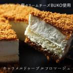キャラメルドゥーブルフロマージュ デンマーク王室ご用達/クリームチーズ/BUKO/ベイクド/レア/2層チーズケーキ /スイーツ/ギフト