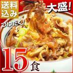 牛丼の具 冷凍 牛丼の素 日東ベストの牛丼DX 業務用 冷凍食品 185g入を15パック