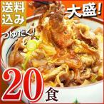 牛丼の具 冷凍 牛丼の素 日東ベストの牛丼DX 業務用 冷凍食品 185g入を20パック