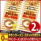 湖池屋 チキンラーメン スティックポテト 1袋(40g)×2袋 ゆうパケット便 メール便 送料無料【 お菓子 駄菓子】