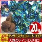 送料無料 あすつく対応 ユウカ ティラミスチョコレート ココア 1袋(50g)(個包装込み)×20袋 業務用 チョコ まとめ買い お菓子 お祭り 景品
