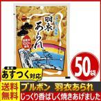 あすつく対応 送料無料 ブルボン コク深い塩味!国産米100%使用 羽衣あられ 1袋(47g)×50袋 おつまみ お菓子 まとめ買い お試し スナック菓子