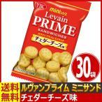 送料無料 ヤマザキ ルヴァンプライム ミニサンド チェダーチーズ味 1袋(50g)×30袋(バラまき つかみどり ビスケット クッキー お菓子 販促品 お祭り 景品)