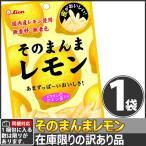 【同梱専用】ライオン 訳あり!あまずっぱ〜いおいしさ!皮がおいしいそのまんまレモン 1袋(25g)(賞味期限2019年9月)