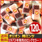 送料無料 オリオン 懐かしい駄菓子!バラまき!つかみ取りの買い増しに! 梅ミンツ 1個(8g)×120個