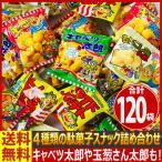 送料無料 あすつく対応 菓道 人気の定番駄菓子スナック「キャベツ太郎」や「玉葱さん太郎」が入った4種類 合計80袋詰め合わせセット