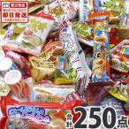送料無料 あすつく対応 駄菓子 詰め合わせ 山盛り250点セット 人気駄菓子約25種類 約250点を箱いっぱいに詰め込んだお得なセット