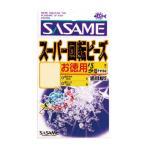 SASAME/ささめ針 P-1150 道具屋 お徳用スーパー回転ビーズ 透明 SS (N)
