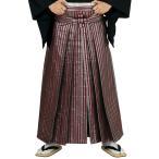 銀襴袴(馬乗り型・黒・吉原つなぎ・縞) 日舞 詩吟 能楽の舞台 舞踊袴 式典 成人式のはかま 高品位日本製 踊り袴