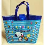 スヌーピー[Snoopy]PEANUTSスイミングバッグ(ビニールバッグ・プールバッグ水着入れ/ビーチバッグ)バケットバッグ(SN25369)