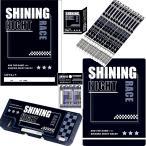 SHINNING NIGHT RACE(カミオジャパン)鉛筆2B6点文具セット(21snr-2B-6set)【鉛筆名入れ無料】