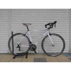 【ロードバイク】 ガノーAXIS(ホワイト)18段変速アルミフレーム